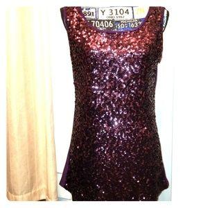 Anna Kaci XL sequence sleeveless blouse